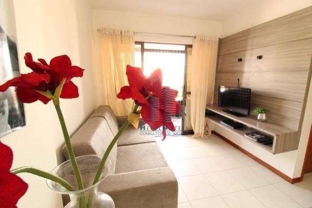 Apartamento com 2 dormitórios à venda, 65 m² por R$ 350.000 - Jatiúca - Maceió/AL - Foto 9