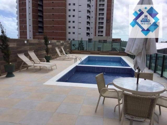 Apartamento residencial à venda, Guararapes, Fortaleza. - Foto 8