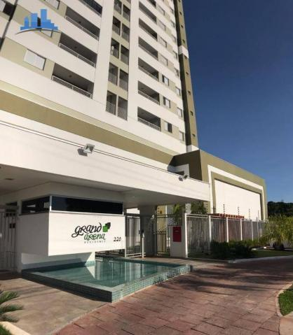 Apto Grand Arena 3 dormitórios 2 vagas, Único, Cuiabá - Foto 3