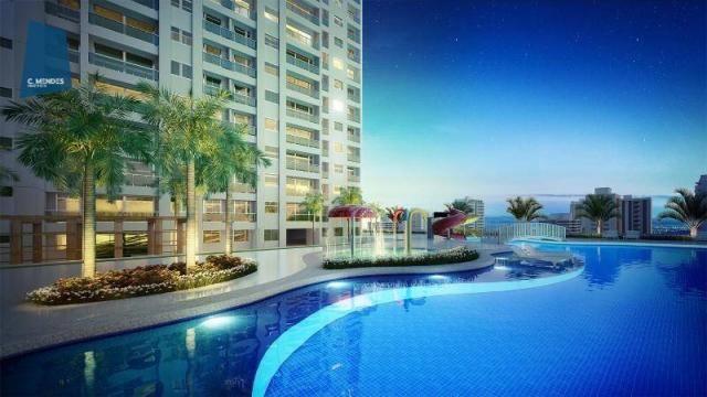 Apartamento à venda, 48 m² por R$ 443.096,80 - Fátima - Fortaleza/CE - Foto 2