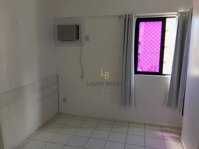 Apartamento com 3 dormitórios à venda, 76 m² por R$ 340.000 - Jatiúca - Maceió/AL - Foto 14