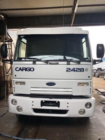 Caminhao Ford cargo 2428 8x2 2011 + tanque 20 mil litros