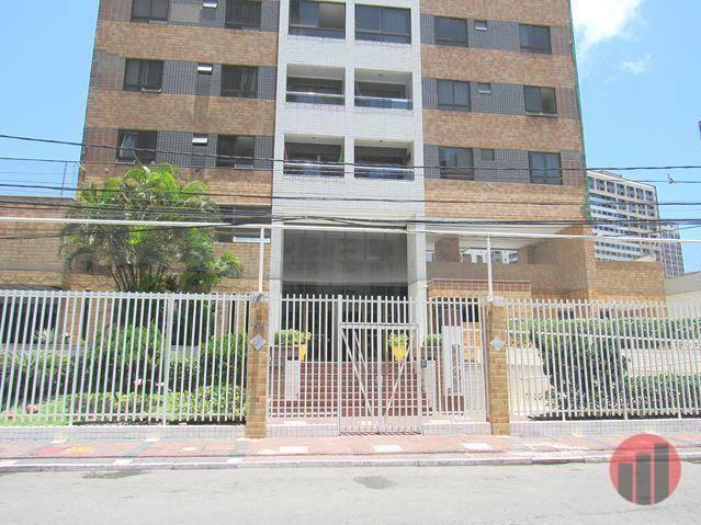 Apartamento com 3 dormitórios para alugar, 63 m² por R$ 1.900/mês - Mucuripe - Fortaleza/C