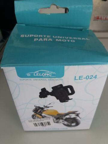 Suporte para moto ou bicicleta novo na embalagem