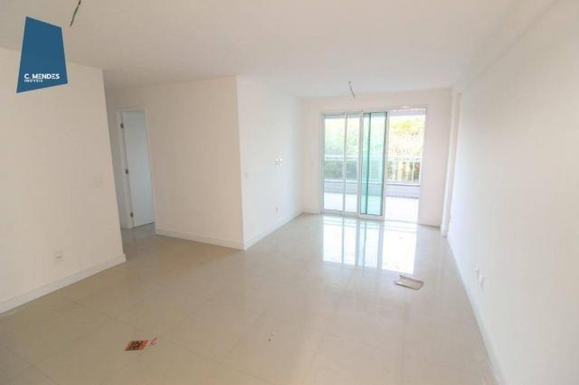Apartamento para alugar, 105 m² por R$ 2.300,00/mês - Jardim das Oliveiras - Fortaleza/CE - Foto 2