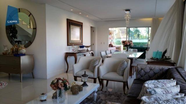 Casa no Alphaville Fortaleza com 4 dormitórios à venda, 310 m² por R$ 1.800.000 - Cararu - - Foto 13