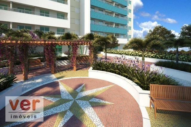 Apartamento para alugar, 61 m² por R$ 1.600,00/mês - Dunas - Fortaleza/CE - Foto 2