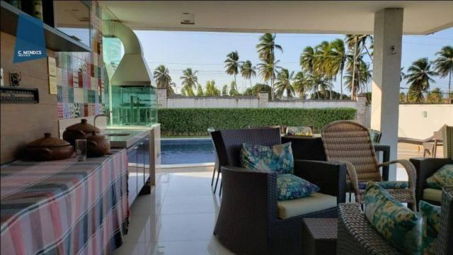 Casa no Alphaville Fortaleza com 4 dormitórios à venda, 310 m² por R$ 1.800.000 - Cararu - - Foto 18