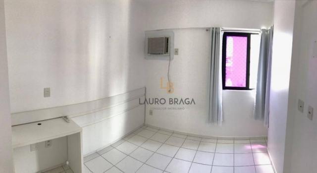 Apartamento com 3 dormitórios à venda, 76 m² por R$ 340.000 - Jatiúca - Maceió/AL - Foto 4