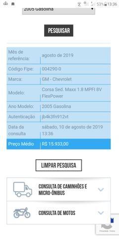 Corsa Max 1.8 com GNV, completo sedam - Foto 7