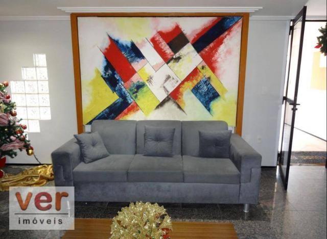 Apartamento com 3 dormitórios para alugar, 74 m² por R$ 800,00/mês - Messejana - Fortaleza - Foto 11