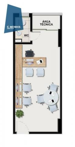 Sala à venda, 26 m² por R$ 175.000,00 - Cambeba - Fortaleza/CE - Foto 12