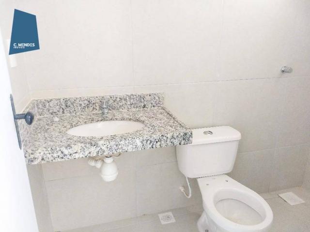 Casa Duplex 124 m² para locação, semi-mobiliada 3 suites 3 vagas, condominio, Jacundá, Eus - Foto 9