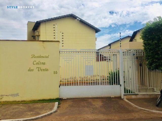 Casa no Condomínio Colina dos Ventos com 3 dormitórios à venda, 119 m² por R$ 359.000 - Ja - Foto 2