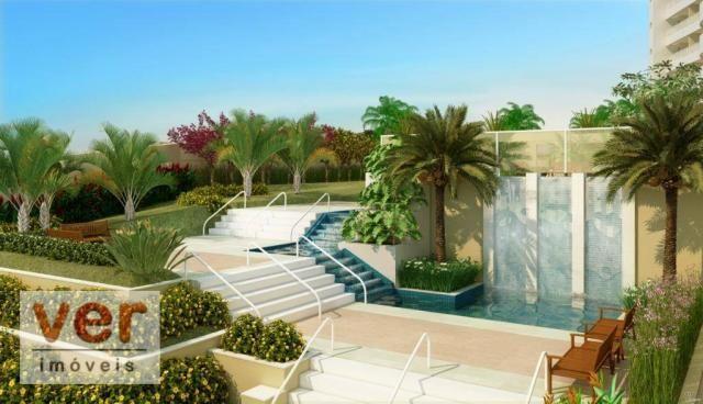 Apartamento com 3 dormitórios à venda, 80 m² por R$ 599.000,00 - Cambeba - Fortaleza/CE - Foto 5