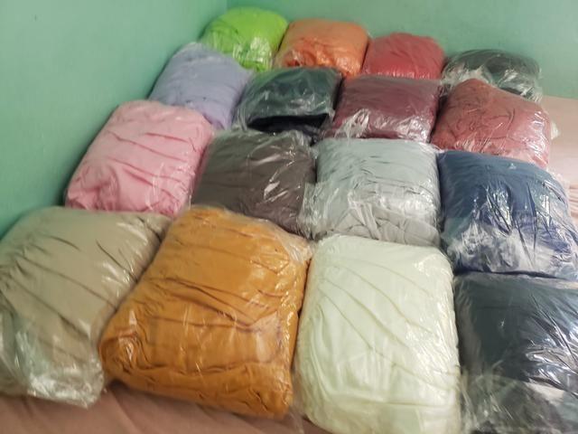 Capa de sofá de canto várias cores