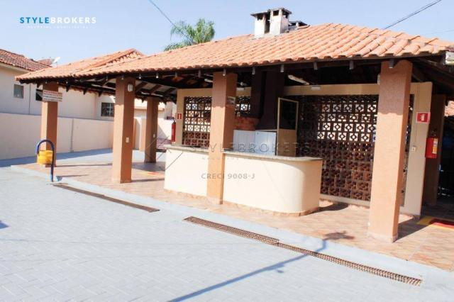 Casa no Condomínio Canachuê com 3 dormitórios à venda, 67 m² por R$ 250.000 - Jardim Santa - Foto 17
