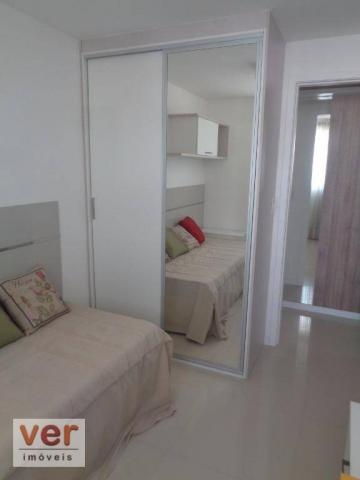 Apartamento com 2 dormitórios à venda, 58 m² por R$ 400.201,64 - Aldeota - Fortaleza/CE - Foto 17