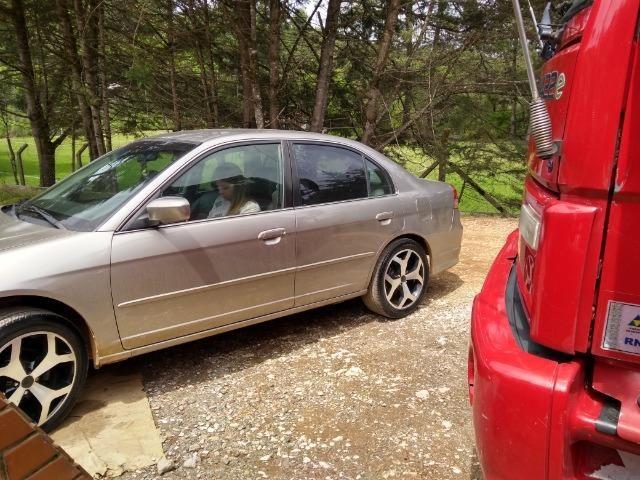 Honda Civic 2003 automático - Foto 4