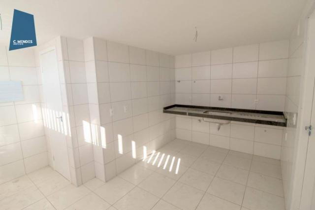 Apartamento para alugar, 105 m² por R$ 2.300,00/mês - Jardim das Oliveiras - Fortaleza/CE - Foto 7