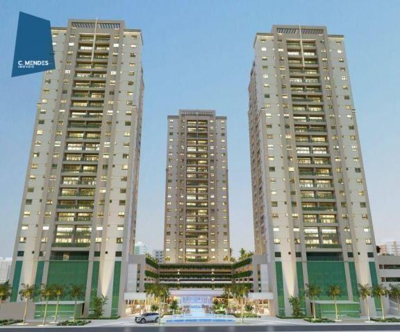 Apartamento à venda, 48 m² por R$ 443.096,80 - Fátima - Fortaleza/CE