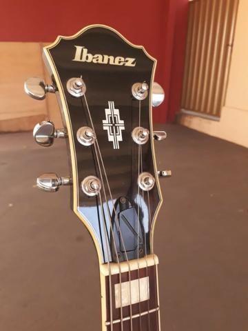 Guitarra Semi Acústica Ibanez Artcore Ag-75bs C/ Semi Case - Foto 3