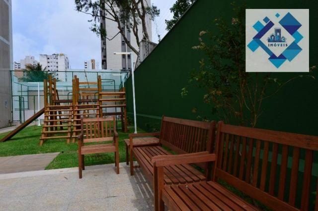 Apartamento alto padrão, 226m² com 4 suítes no Bairro do Meireles. - Foto 17