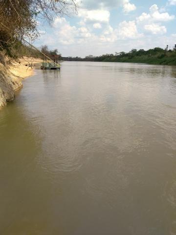 Vendo chácara na beira do rio ao lado do pesqueiro casa de telha - Foto 5
