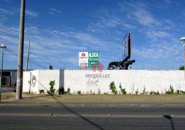 Terreno de Esquina para Locação no bairro Pinheirinho - Foto 2