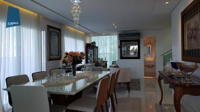 Casa no Alphaville Fortaleza com 4 dormitórios à venda, 310 m² por R$ 1.800.000 - Cararu - - Foto 6