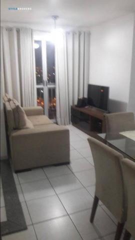 Apartamento no Condomínio Garden Goiabeiras com 3 dormitórios à venda, 67 m² por R$ 275.00