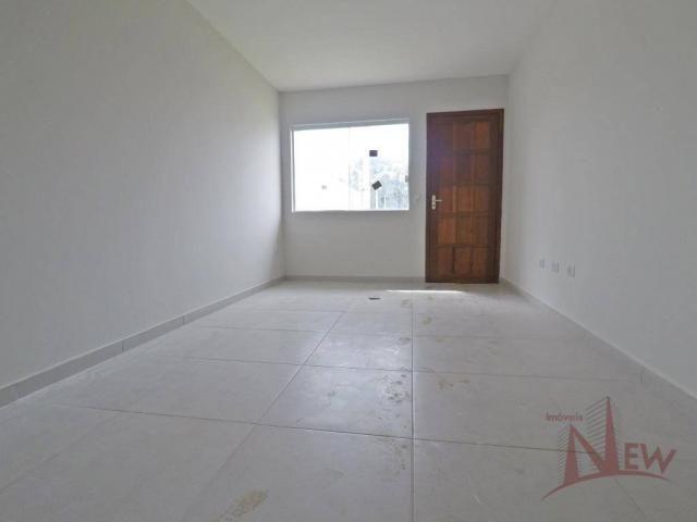 Excelente casa com 02 quartos no Campo Largo da Roseira, São José dos Pinhais - Foto 3