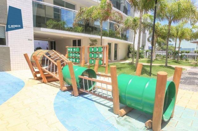 Apartamento com 3 dormitórios à venda, 71 m² por R$ 455.000,00 - Cocó - Fortaleza/CE - Foto 4