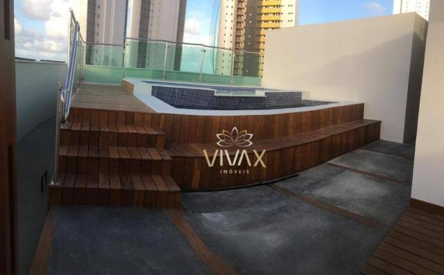 Flat com 1 dormitório à venda, 43 m² por R$ 360.000 - Ponta Negra - Natal/RN - Foto 18