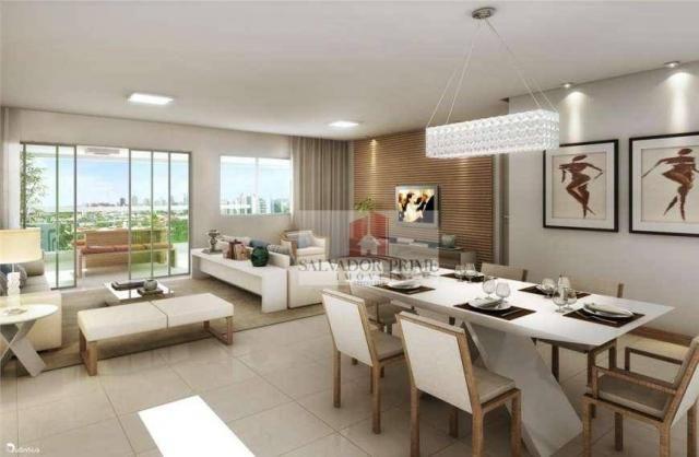 Apartamento residencial à venda, Caminho das Árvores, Salvador. - Foto 4