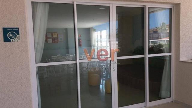 Apartamento para alugar, 61 m² por R$ 1.600,00/mês - Dunas - Fortaleza/CE - Foto 3