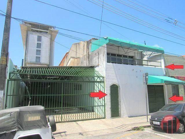 Casa para alugar, 260 m² por R$ 2.200,00 - Centro - Fortaleza/CE