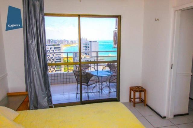 Apartamento Duplex para alugar, 130 m² por R$ 4.000,00/mês - Mucuripe - Fortaleza/CE - Foto 2