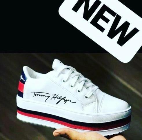 8925984fb5 Tênis Plataforma Tommy Promoção!!! - Roupas e calçados - St Bueno ...