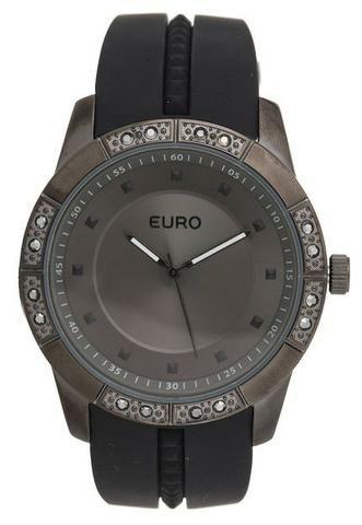 07688f24cac Relógio Euro fashion fit sabrina sato - eu2036yela 8d - preto - Novo ...
