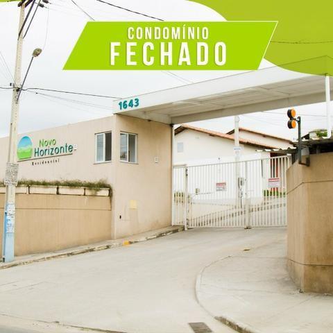 Lindas casas 02 qts padrão e Pne quintal garagem ótima localização transporte na porta - Foto 11