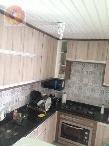 Apartamento com 2 dormitórios à venda, 39 m² por R$ 130.000 - Cidade Industrial - Curitiba - Foto 3