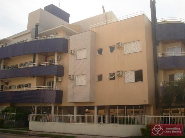 Apartamento à venda com 2 dormitórios em Ingleses do rio vermelho, Florianopolis cod:543