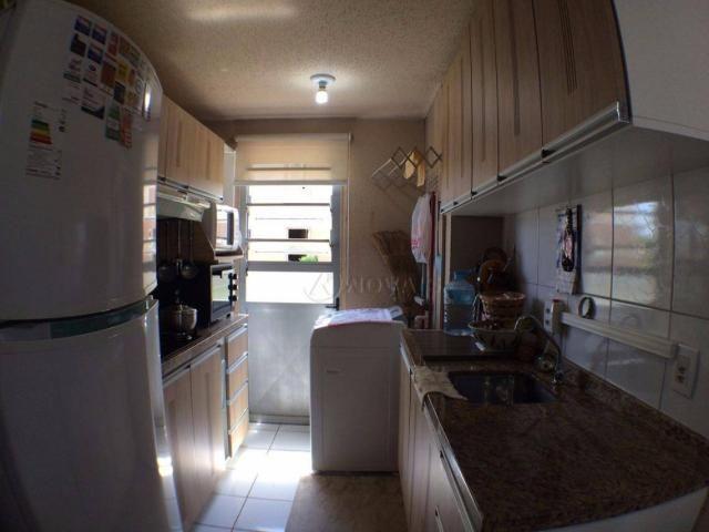 Apartamento com 2 dormitórios à venda, 78 m² por r$ 180.000 - centro - portão/rs - Foto 5