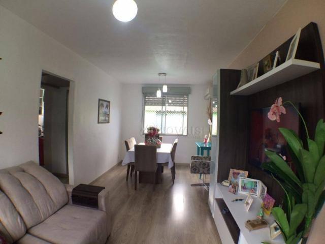 Apartamento residencial à venda, canudos, novo hamburgo.