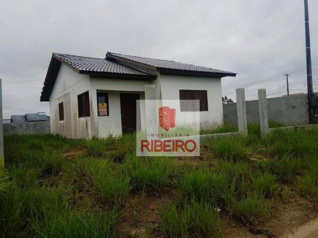 Casa com 3 dormitórios à venda, 69 m² por R$ 215.000 - Nova Divinéia - Araranguá/SC
