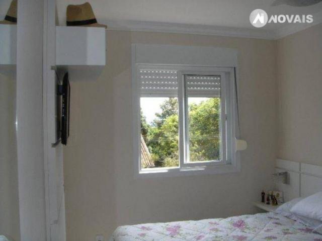 Apartamento com 2 dormitórios à venda, 54 m² por r$ 260.000,00 - santo andré - são leopold - Foto 10