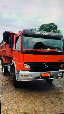 Caminhão MERCEDES BENZ 2425 BASCULANTE 10 metros