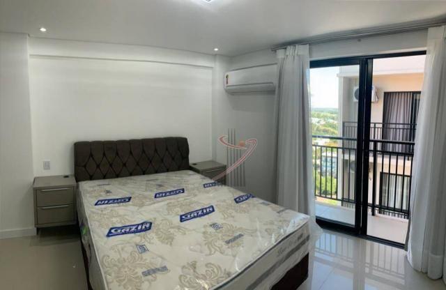 Apartamento com 1 dormitório para alugar, 50 m² por R$ 2.500,00/mês - Edifício Riverside - - Foto 10