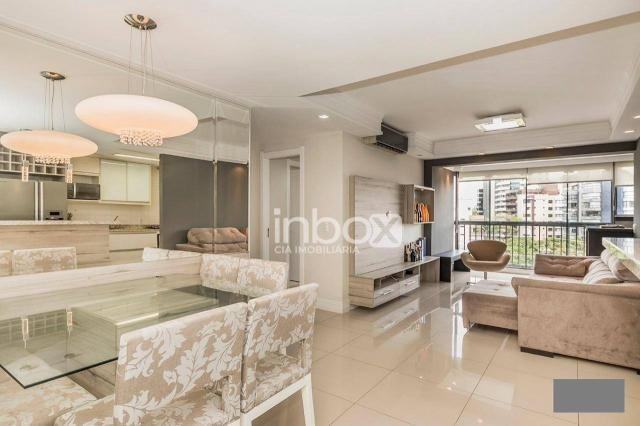Magnífico apartamento com 2 dormitórios para alugar, 86 m² por R$ 4.800/mês - Três Figueir - Foto 6